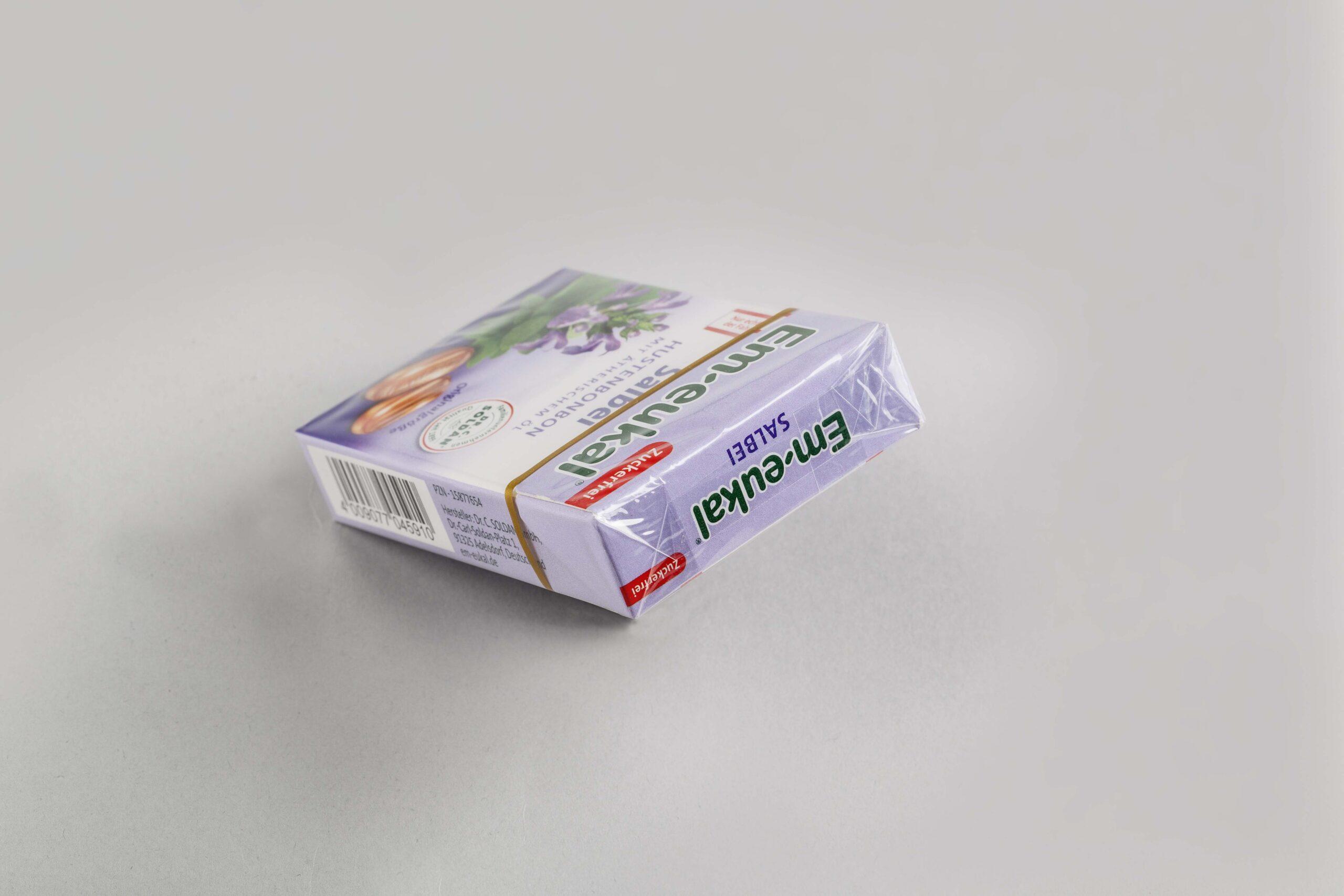 Falteinschlagverpackung Süßwaren
