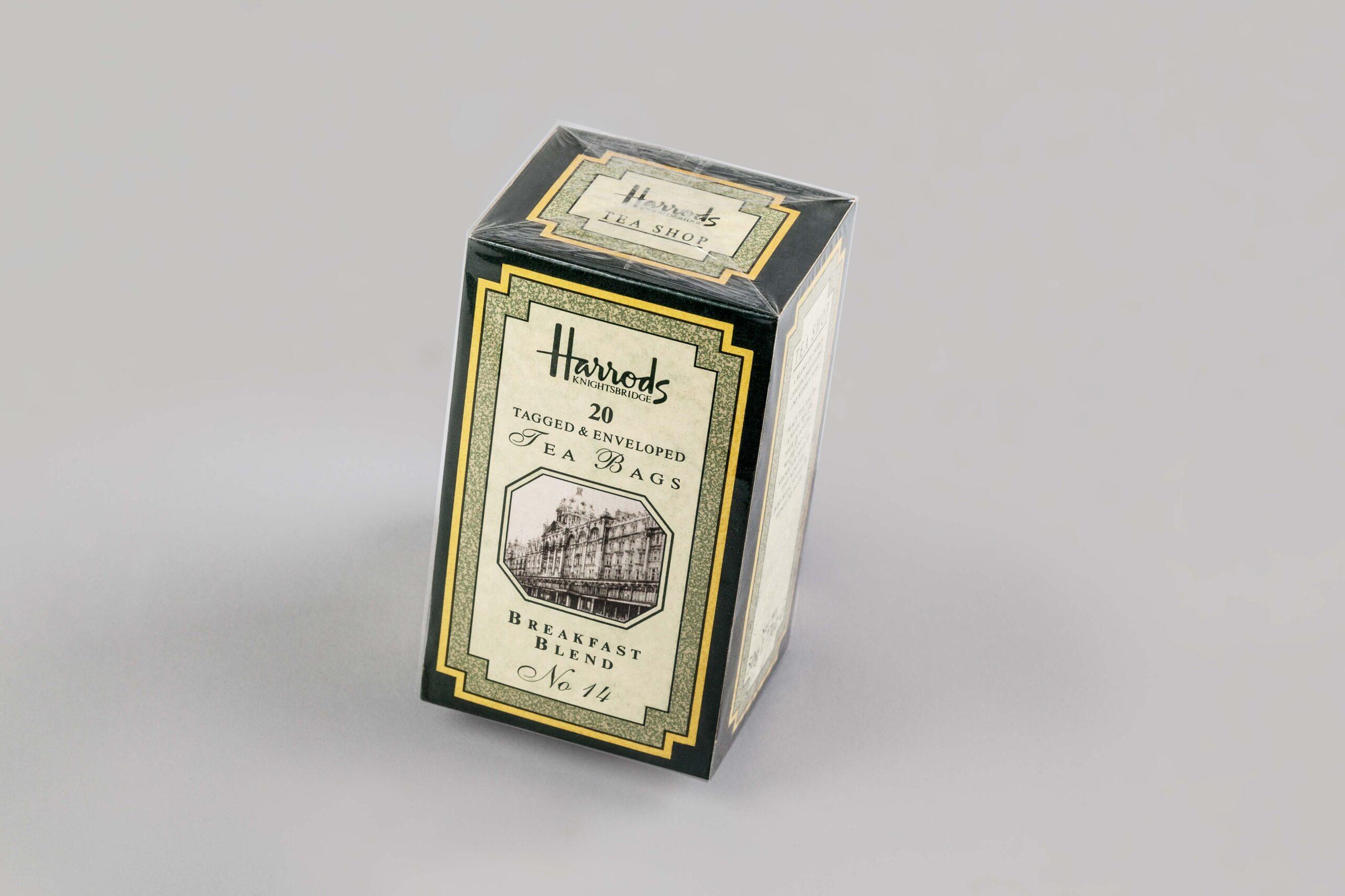 Falteinschalgverpackung Tee