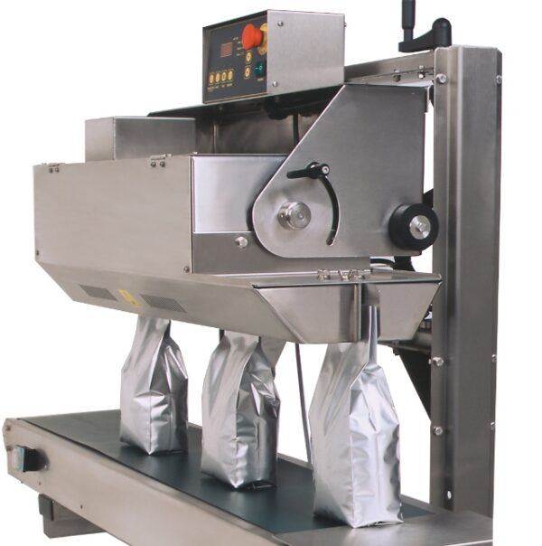 Belt sealer D552VTS with Aluminium bags