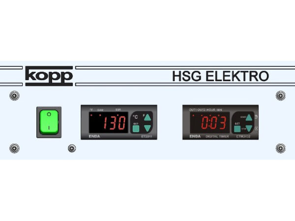Heißsiegelgerät HSG Elektro Steuerung