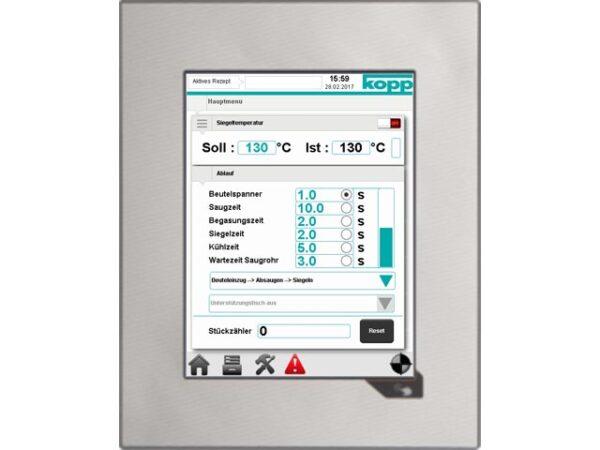 Touchpanel Heißsiegelgerät K600V