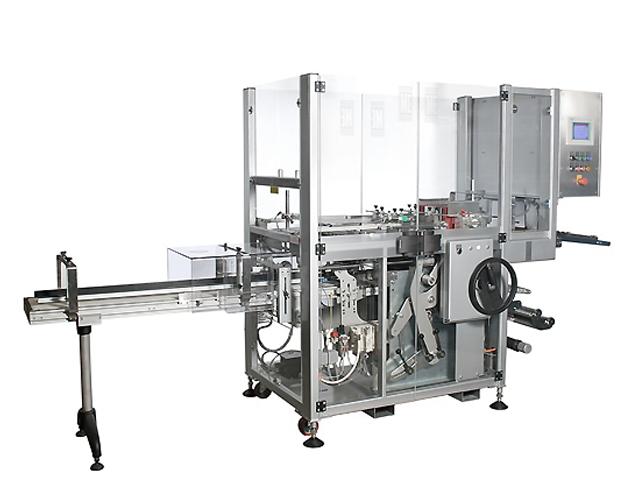 Vollautomatische Falteinschlagmaschine (Cellophanierer) ME LX
