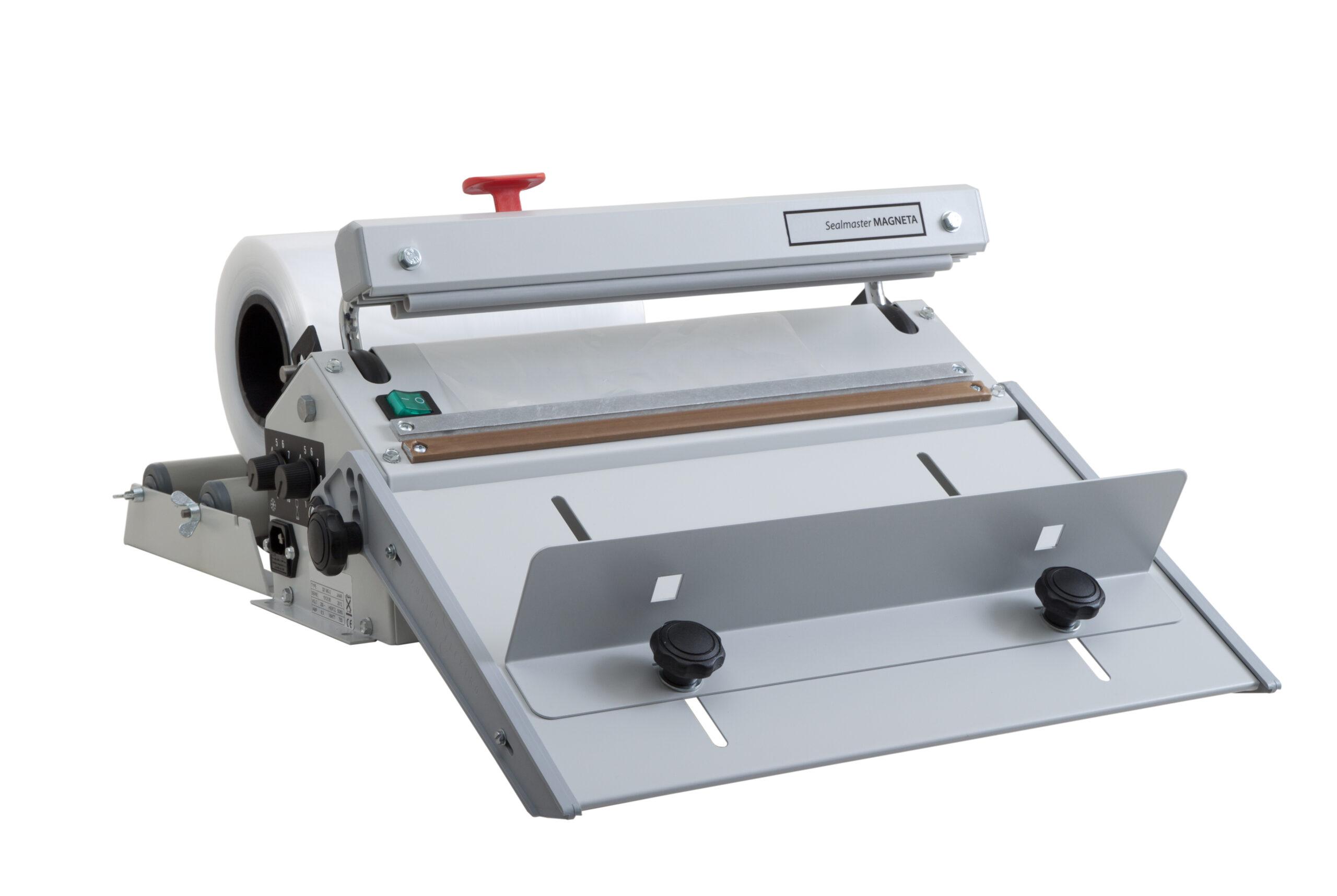 Folien-Schweißgerät Sealmaster Magneta mit Abroller und Anstecktisch