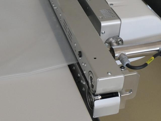 Durchlaufschweißgerät MSPS mit Schienensystem