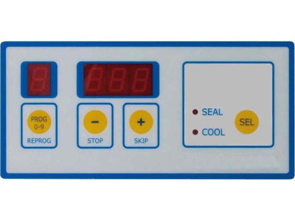 Digitale Zeitsteuerung für Schweiß- und Kühlzeit, 9 Programme speicherbar