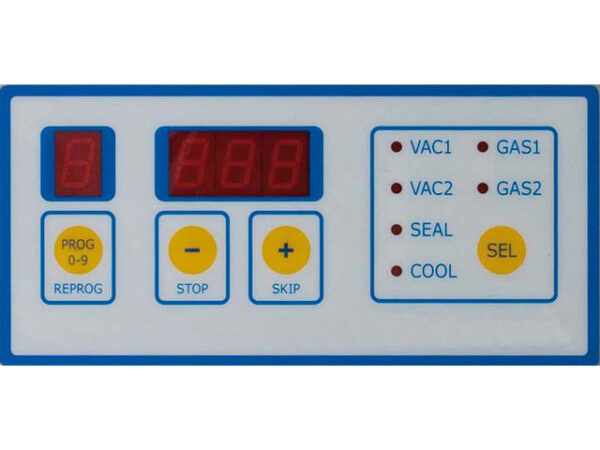 Folienschweißgerät MVMed Steuerung