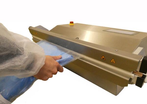 Folienschweissgeraet MVMEDPLUS Anwendung