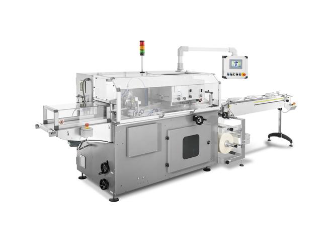 Horizontal flow wrapping machine CO130
