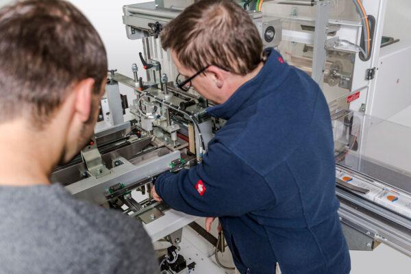 TML Falteinschlagmaschine