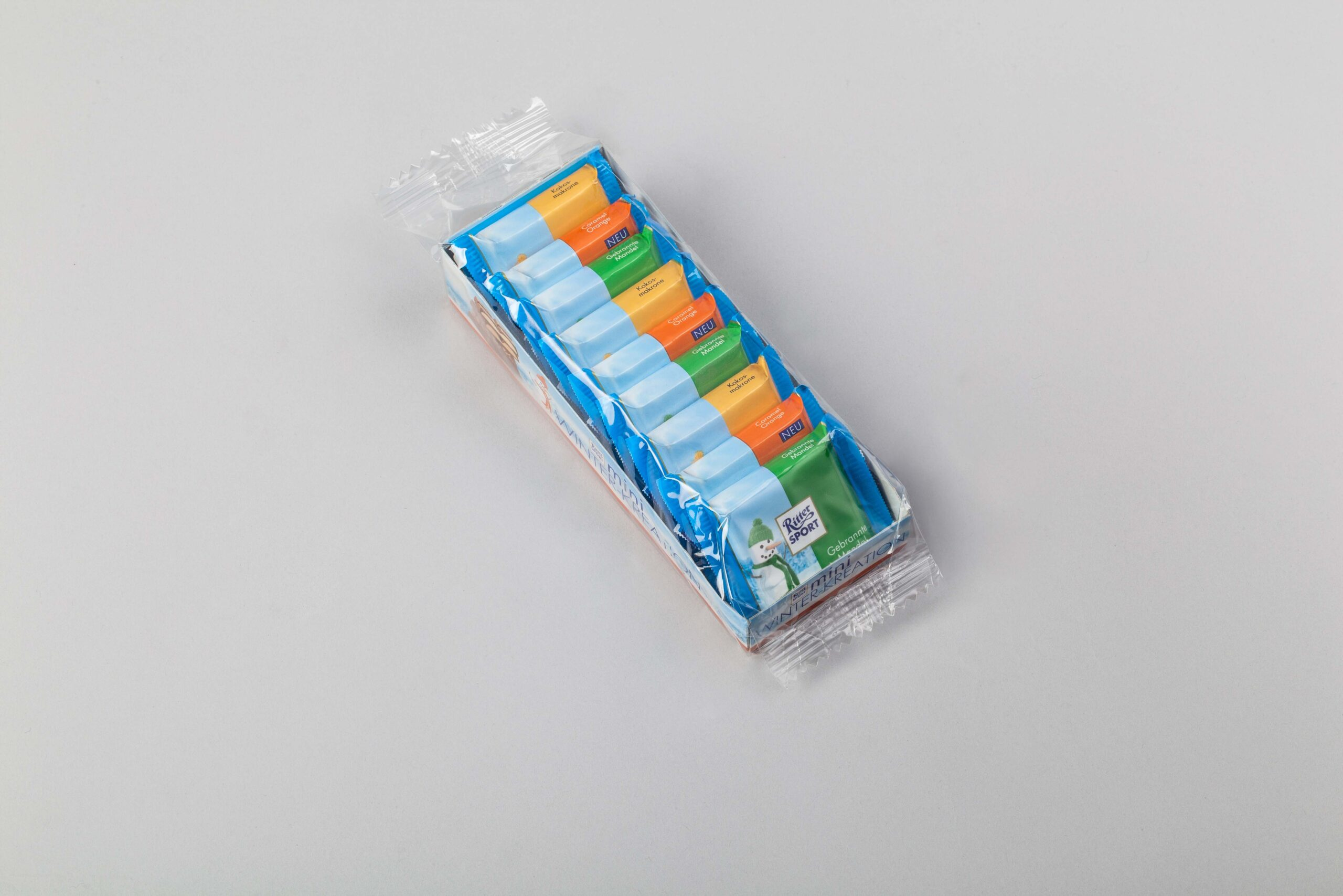 Schlauchbeutelverpackung Muster