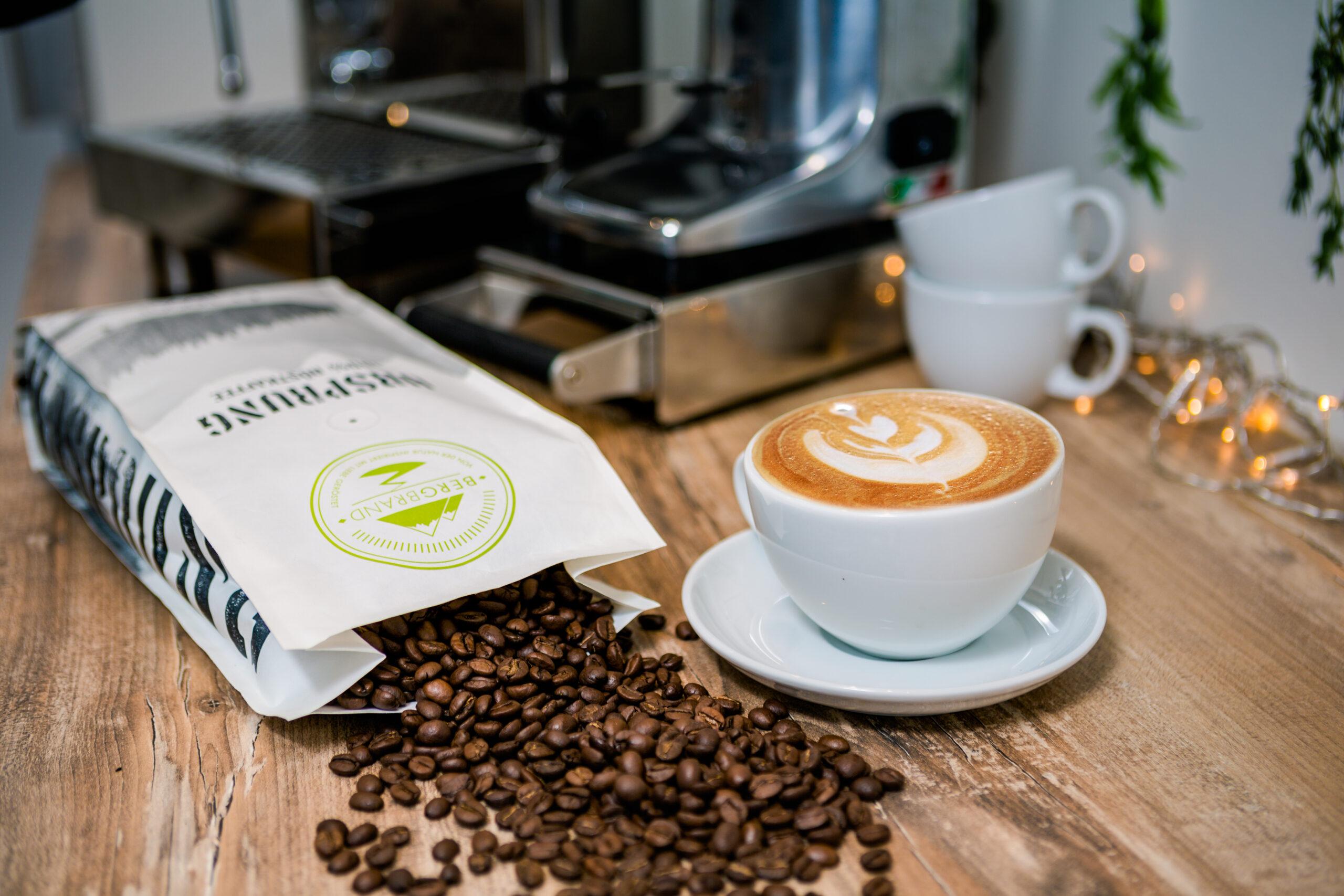 Kaffeeverpackung Verpackungsmuster